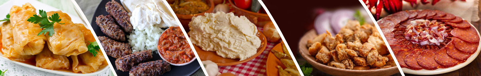 Traditional Serbian food